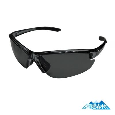 【極地森林】深灰色TAC寶麗萊偏光鏡片運動太陽眼鏡(7703) - 快速到貨