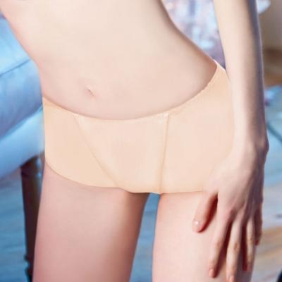 瑪登瑪朵-2014AW 俏魔力低腰平口束褲S-XL(桃粉膚)