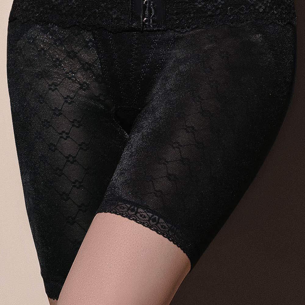 曼黛瑪璉-14SS魔幻美型  重機能中腰中管束褲(黑)