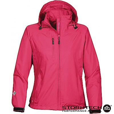 【加拿大STORMTECH】SSR-3EW 輕薄防水透氣外套-女-粉紅