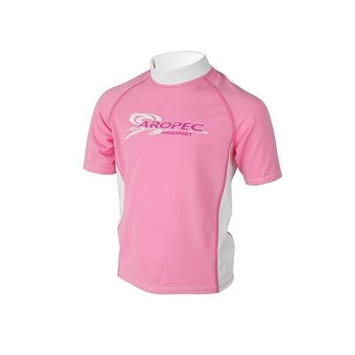 AROPEC Sugar糖兒童短袖防曬衣粉紅