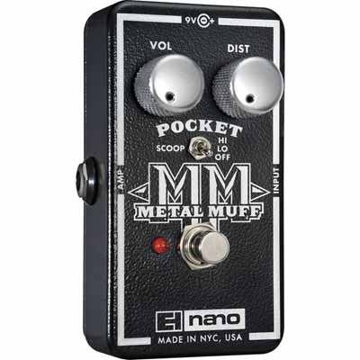 EH Nano Pocket Metal Muff  破音 效果器