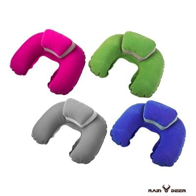 RAIN DEER 豪華版旅行充氣U型枕(2入隨機出貨)