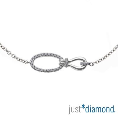 Just Diamond 18K金鑽石手鍊-Joyful