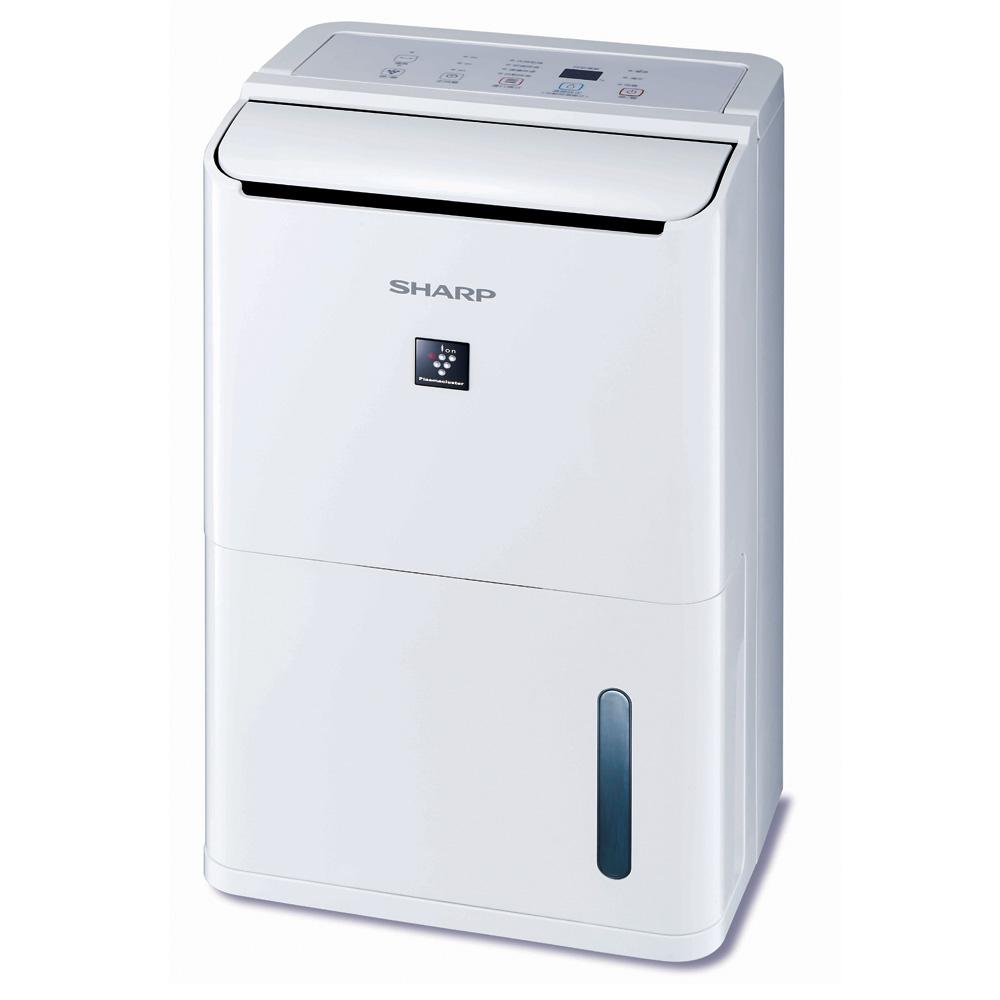 夏普8L自動除菌離子溫濕感應除濕機DW-D8HT-W