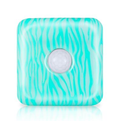安全家智能夜視燈-感應燈/照明燈/露營燈(藍斑馬紋)