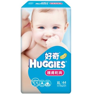金好奇護膚乾爽紙尿褲 PH5.5-XL(44片X4包)/箱(新舊包裝隨機出貨)