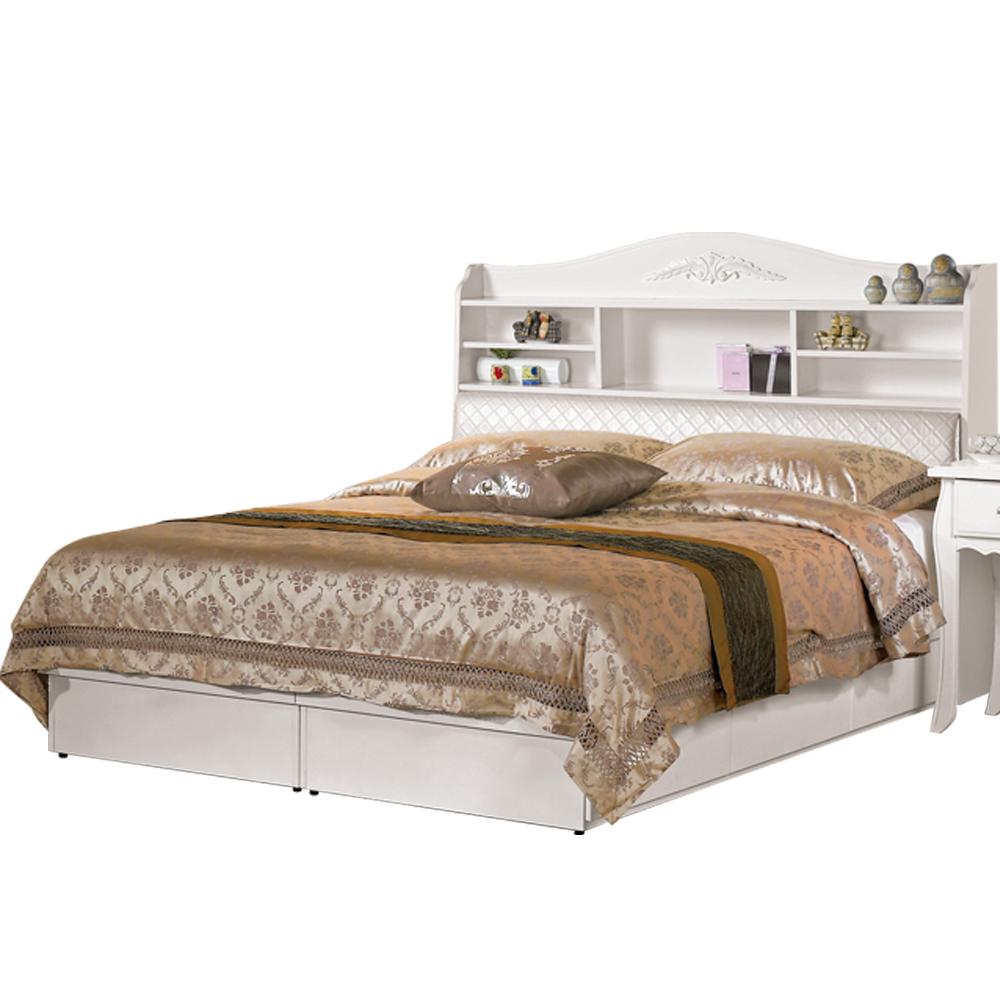 CASA卡莎 安朵5尺被櫥式雙人床(不含床墊)