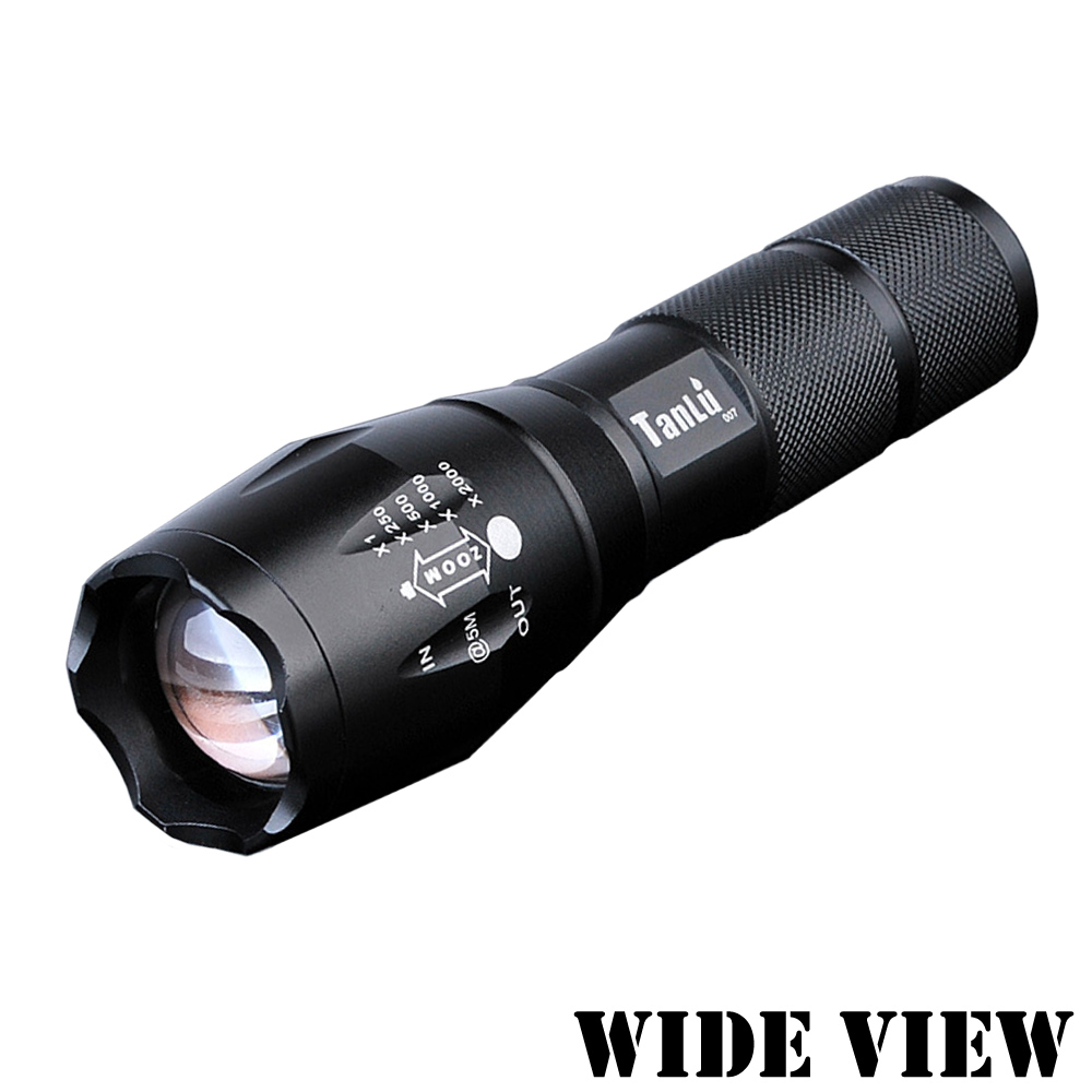 【WIDE VIEW】超亮遠射 L2導軌變焦手電筒(NTL-S2-T)