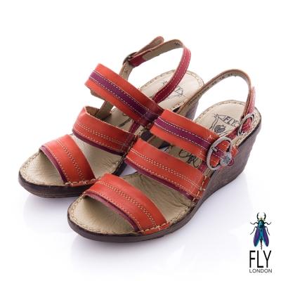 Fly-London-女-楔型涼鞋