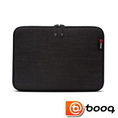 Booq Mamba 系列 the new MacBook 12 吋天然麻保護袋(沉穩黑)