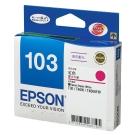 EPSON NO.103 紅色高容量 XL 墨水匣(T103350)