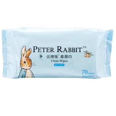 奇哥  比得兔柔濕巾70抽
