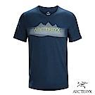 Arcteryx 始祖鳥 24系列 男 有機棉 REMOTE 短袖T恤 藍