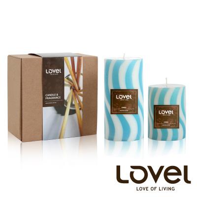 【LOVEL】香氛手工蠟燭組(棒棒糖系列-海洋)