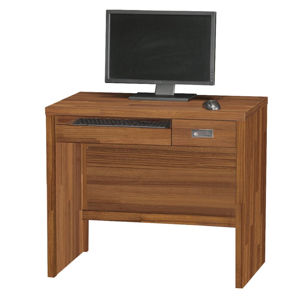 品家居 萊特3尺電腦書桌-90.3x57.6x78.5cm-免組