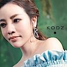 東京著衣-KODZ 菲菲聯名藝術紅脣女人耳環(共一色)