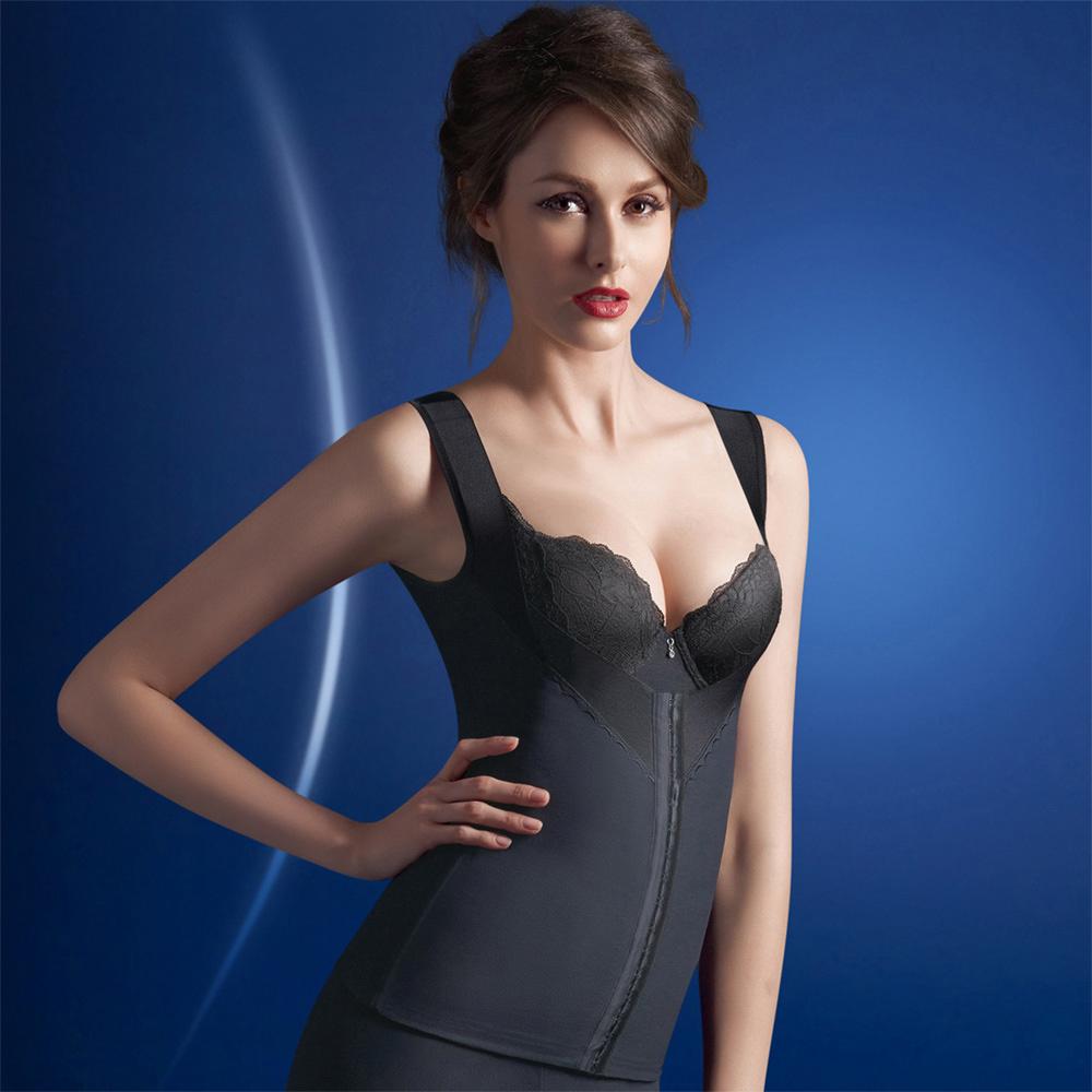 華歌爾-美姿極塑衣64-82塑身衣(魅惑黑)
