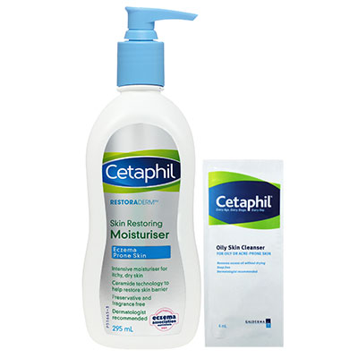 Cetaphil舒特膚-修護-滋養-乳液-敏感