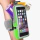 雙層運動手機臂套-防水反光觸控-綠色X5.7吋以下通用 活力揚邑 product thumbnail 1