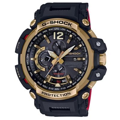 G-SHOCK35周年第二紀念-金炫飛行黑紅撞色GPS電波錶(GPW-2000TFB)57