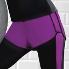 推EASY SHOP-沁涼運動 運動型短褲(寶石紫)