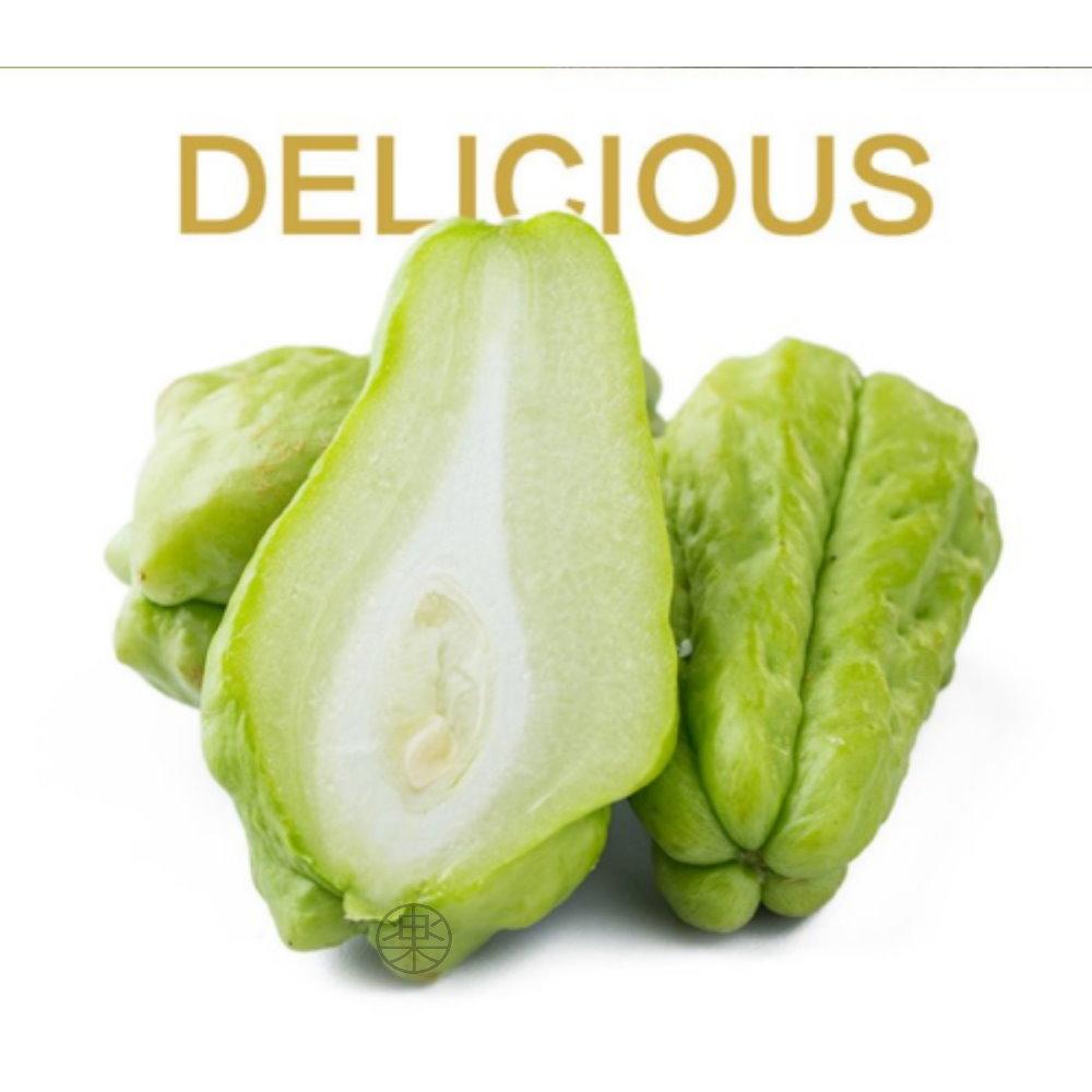 (滿999任選)【果之蔬】溫室佛手瓜/洋絲瓜(5顆入/單顆約300-400g±10%)