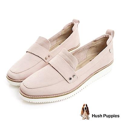 Hush Puppies CHOWCHOW 輕量大底休閒鞋-粉紅