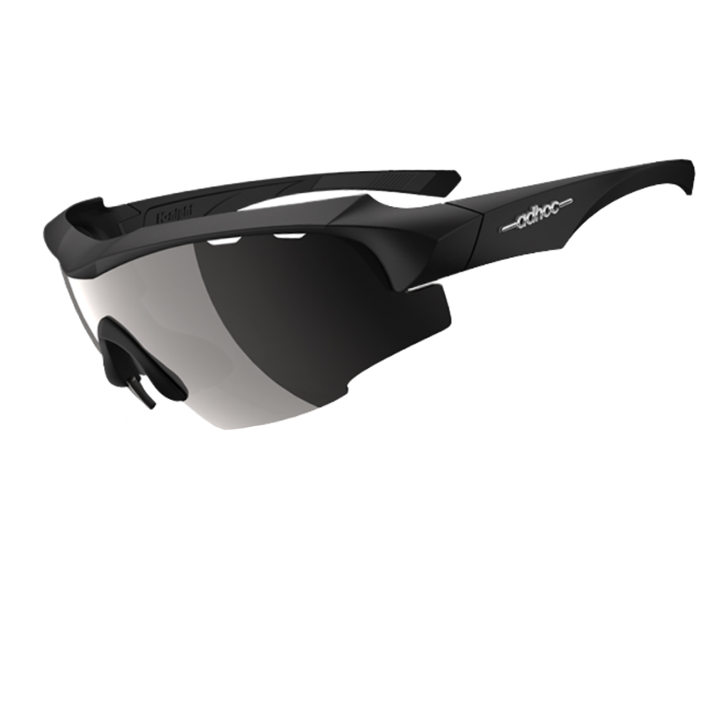 【ADHOC】運動太陽眼鏡-偏光灰片-半框式K-NIGHT