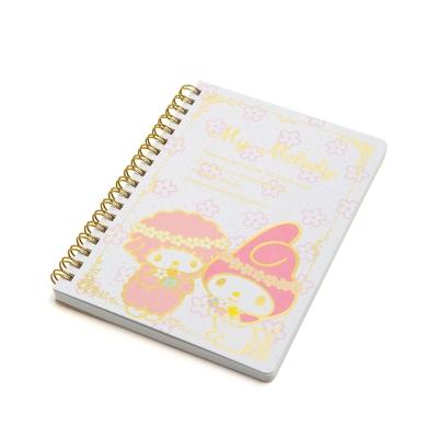 Sanrio 美樂蒂40週年快樂紀念日系列B6線圈筆記本(美樂蒂&PIANO)