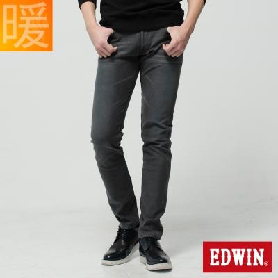 EDWIN W-F ZERO窄直筒保溫褲-男-灰色