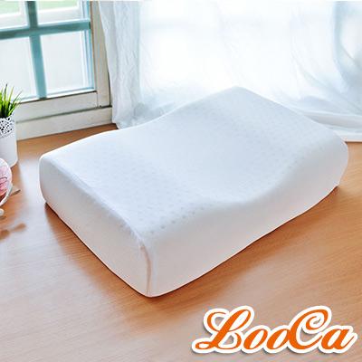 LooCa 蝶型機能特大乳膠枕 2入
