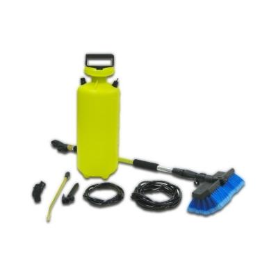 【COLOR】可攜式鋁製伸縮庭院室內戶外清潔/灑水組(7.5L)