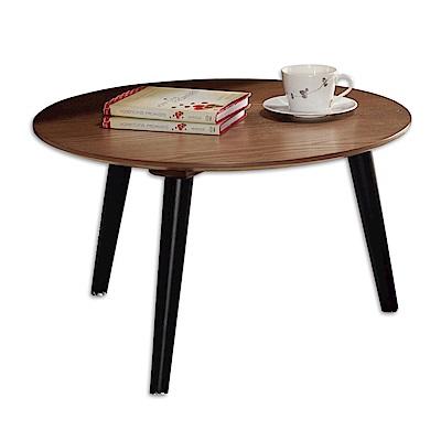 Boden-湯瑪斯2尺實木簡約圓型小茶几-60x60x37cm