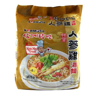 Paldo八道 人蔘雞湯麵(110gx4入)