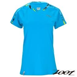 ZOOT 頂級極致型凍感運動上衣(女) Z1604002(沁藍)