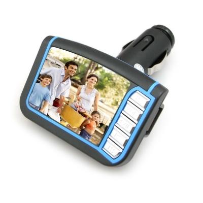 DW-新款二代M10彩色液晶螢幕車用MP4 轉播器(加贈多功能遙控器)