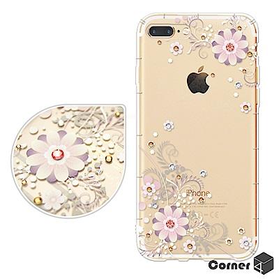 Corner4 iPhone8/7 Plus 5.5吋 奧地利彩鑽防摔手機殼-風...