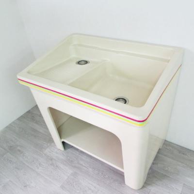 Amos-一體成型大洗衣槽(W90.5*D62.5*H89 CM)