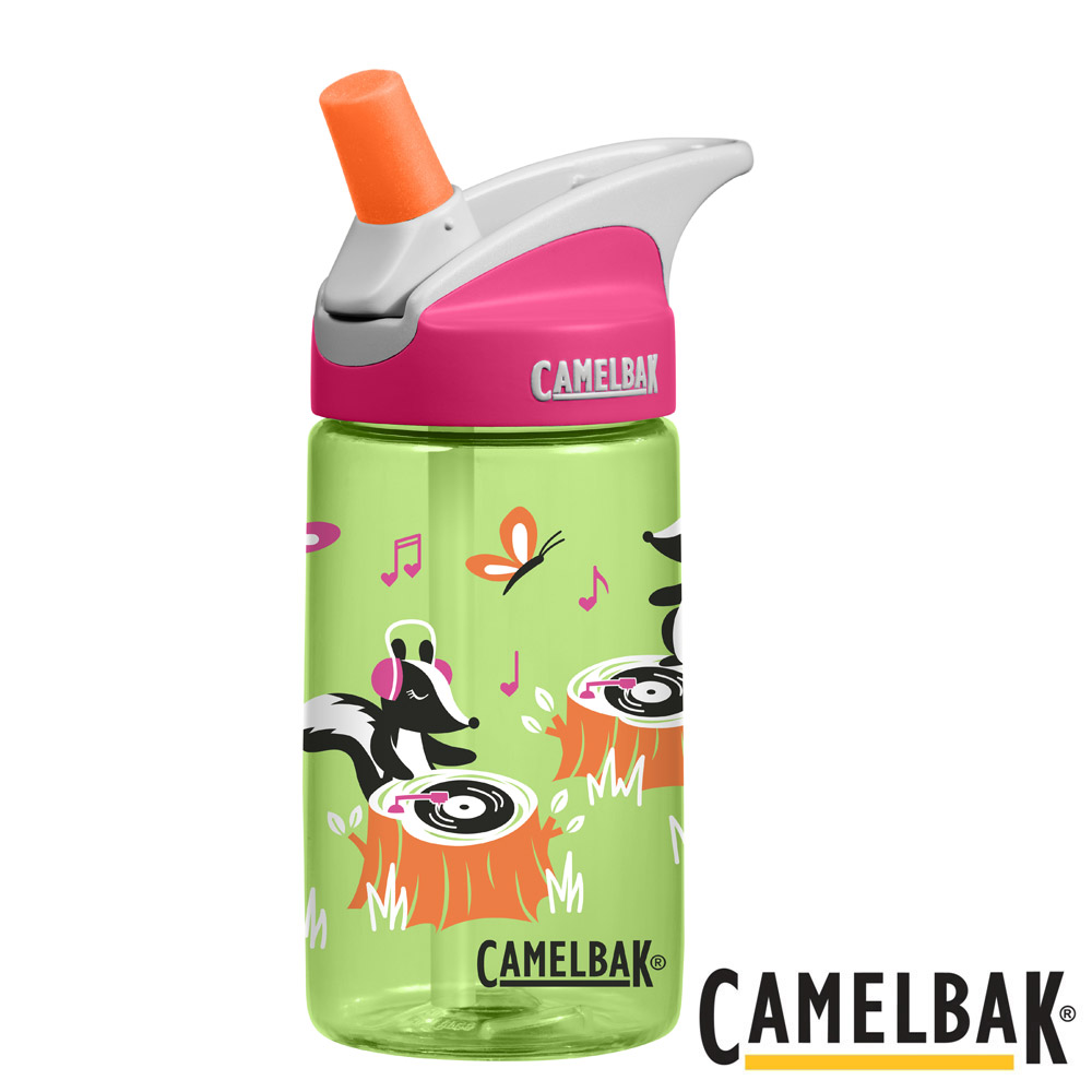 CAMELBAK兒童吸管運動水瓶音樂鬼才400ml CB1274301040