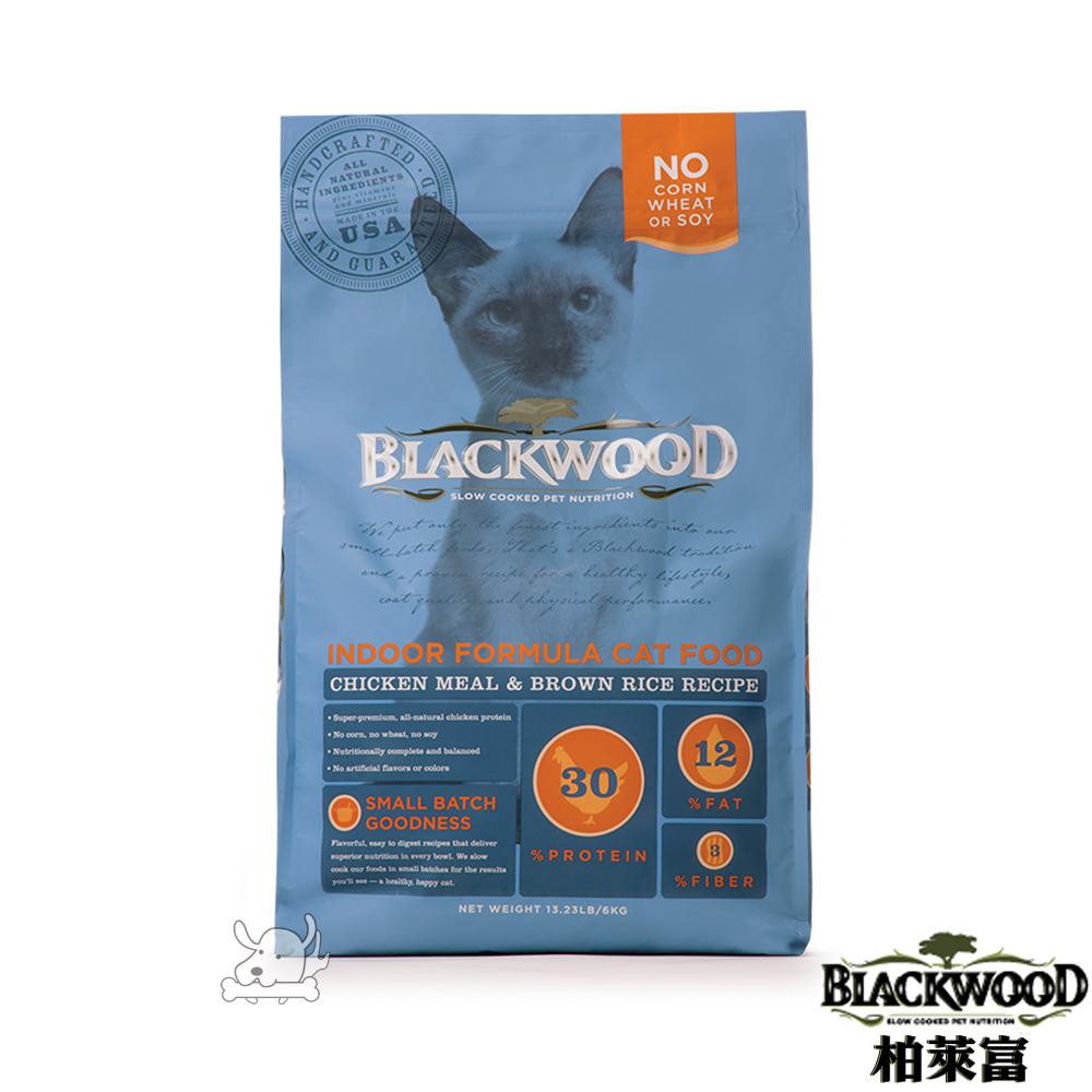 BlackWood 柏萊富 室內貓全齡優活配方(雞肉+米)4磅(1.8公斤)X 1包