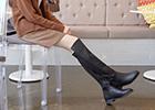 歐美ZARA同款過膝長靴
