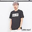 Little moni 親子印圖棉T(大人)(2色可選)