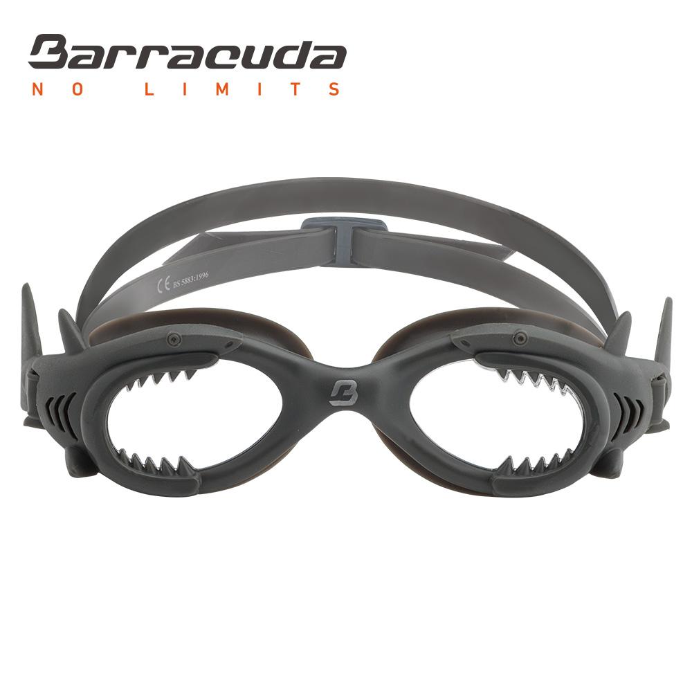 美國Barracuda巴洛酷達SHARK 13020兒童防霧泳鏡-鯊魚