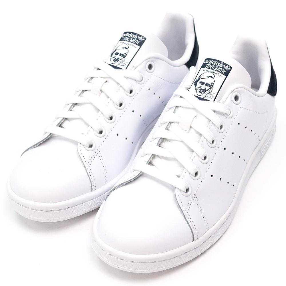 ADIDAS-STAN SMITH男休閒鞋-白藍