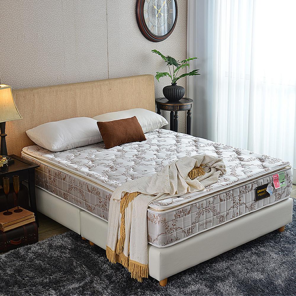 MG珍寶-三線Cool涼感抗菌-蜂巢獨立筒床墊-雙人加大6尺