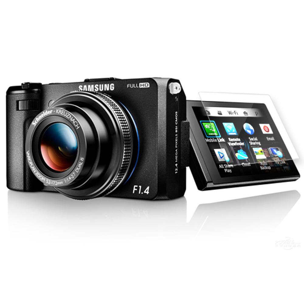 Kamera for Samsung EX2F 高透光LCD保護貼