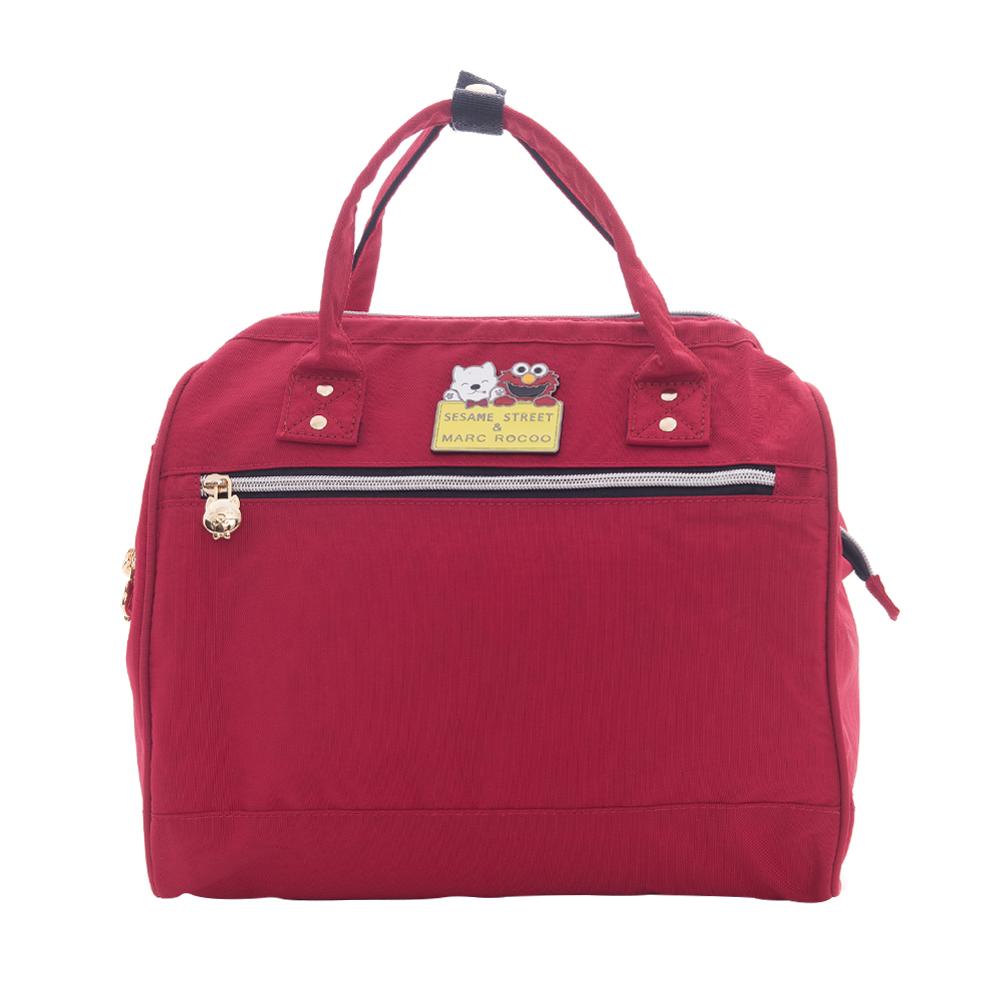 MARC ROCOOX芝麻街聯名款-漫遊輕旅三用後背包-8002-璀璨紅
