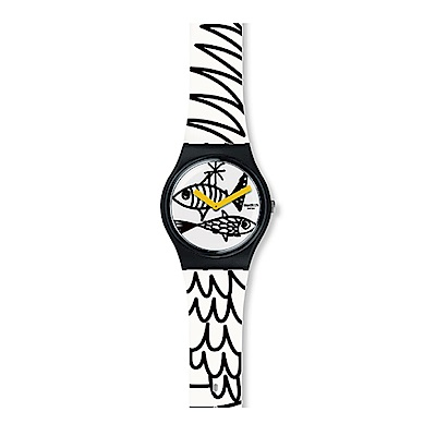 Swatch 情迷地中海 PESCIOLINI 魚兒漫遊手錶
