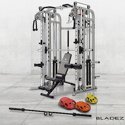 【BLADEZ】FWS 1 全方位重量訓練機-超值組